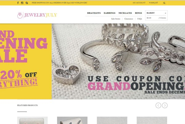 Jewelry July Online Store