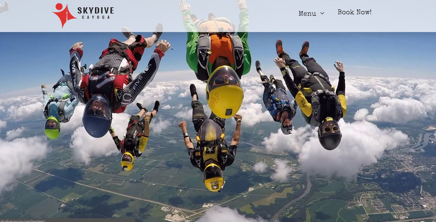 Skydive Toronto and Niagara Falls